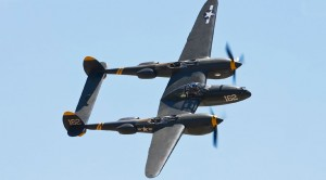 Awesome Aerobatics: P-38 Lightning Showing Off The Goods