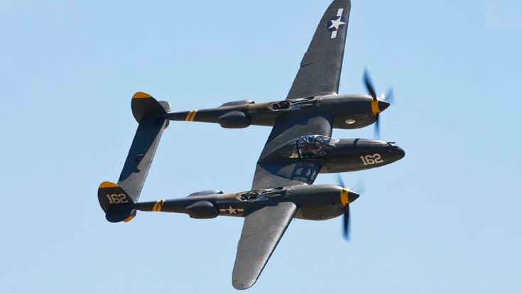 Awesome Aerobatics: P-38 Lightning Showing Off The Goods | World War Wings Videos