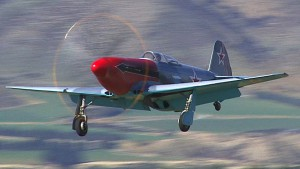 Two WW2 Russian Yak 3 fighters at Wanaka