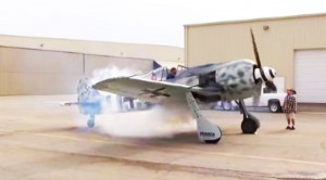 Fw 190 Startup With Backfire