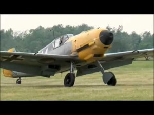 75 year old Messerschmitt BF109-E4 Flies Again