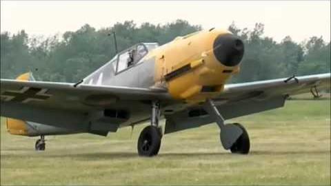75 year old Messerschmitt BF109-E4 Flies Again | World War Wings Videos