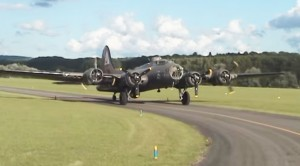 "Take Ride With B-17″The Pink Lady""- Great Footage Of Different Angles"