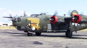 B-24 Liberator, Witchcraft, Warms Up & Takes Off