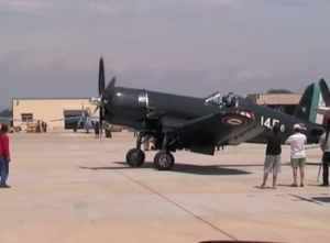 This RARE Restored French Corsair F4U-7 Flies Like A Champ