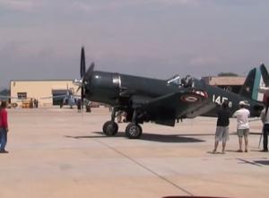 This RARE Restored French Corsair F4U-7 Flies Like A Champ