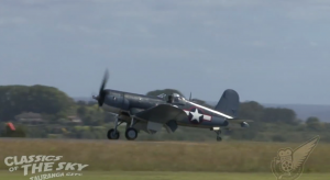 GORGEOUS FG-1 Goodyear Corsair Mesmerizing You While She Flies