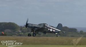 GORGEOUS FG-1 Goodyear Corsair Mesmerizing You While She Flies
