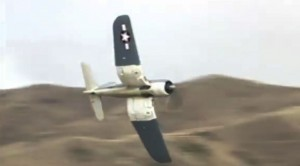 F4U Corsair Fighter- Low Level and Fast