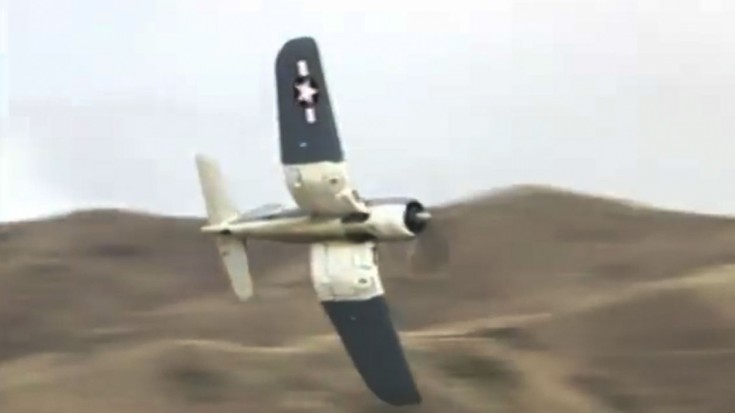 F4U Corsair Fighter- Low Level and Fast | World War Wings Videos