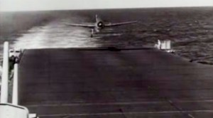 Damaged WWII Warbirds Try To Land On Carrier–Heart Pounding Footage