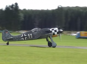 Focke-Wulf 190 AWESOME SOUND!!!