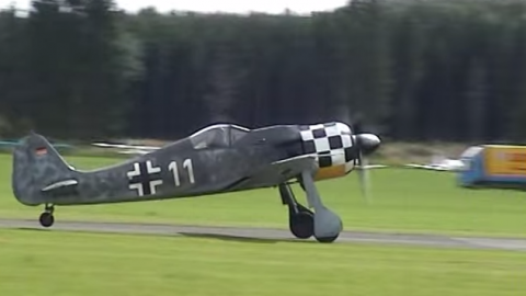 Focke-Wulf 190 AWESOME SOUND!!! | World War Wings Videos
