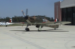 Smooth Flying From A Hawker Sea Hurricane