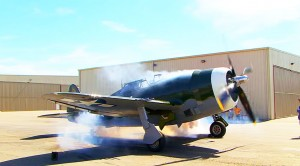 This P-47 Has The Roughest Sounding Radial Ever