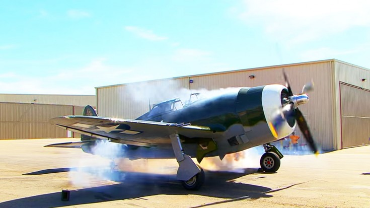 P-47 Throaty Start Up | World War Wings Videos