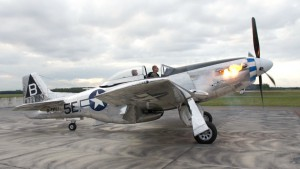 P-51 Mustang – Flames on Start Up Rolls-Royce Merlin – Flyover