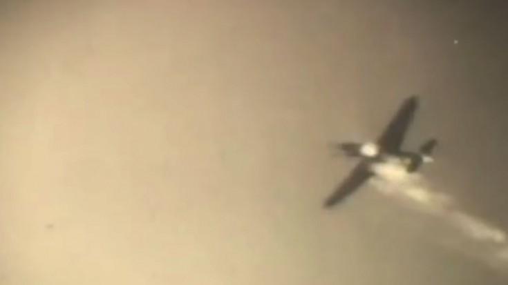 U.S. P-38 Lightnings Raid Germany - Gun Camera Footage - World War ...