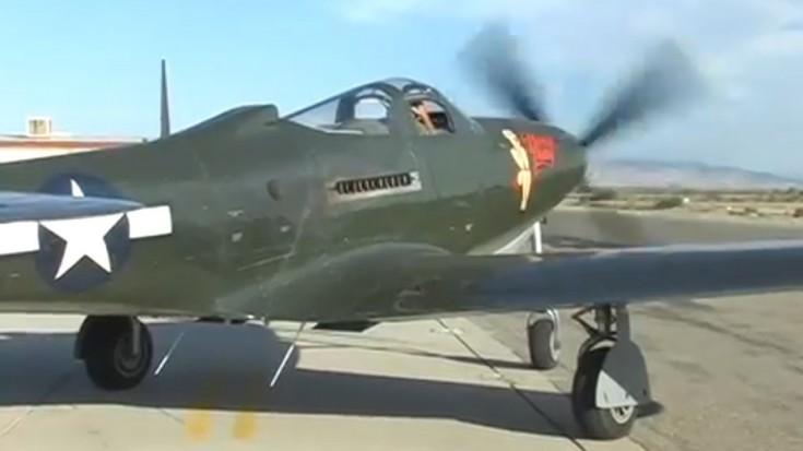 Restored WWII P-63 Kingcobra Fighter Flight Demo | World War Wings Videos