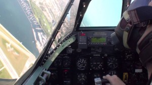 Ride Along in the Cockpit of a Spitfire Mark IX