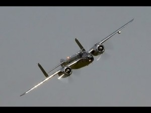 The Flying Bulls B-25 Mitchell Demo Flight