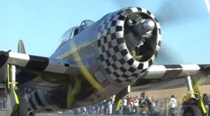 SIX Restored Republic P-47 THUNDERBOLT Fighters