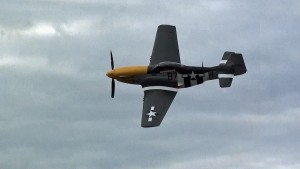 Ultimate P-51 Mustang Flyby: Not A Whistle But A Scream!