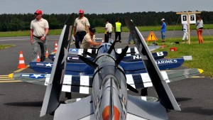 Corsairs and P-47s: Watch These Giant Rc Warbirds Fly Together!