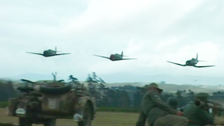 This WWII Reenactment Features ALL Your Favorite Planes | World War Wings Videos