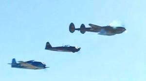 Japanese Zero, P-38 & Hellcat Flight Demonstration- AWESOME!