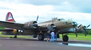 WWII Bombers Starting Up Is A Thing Of Beauty
