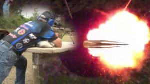 50 Cal Armor-Piercing Incendiary Rounds SLOW MOTION!!!