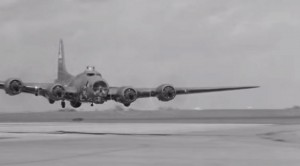 B-17 Pilot Not Giving A Damn About Regulations In This Vintage Clip