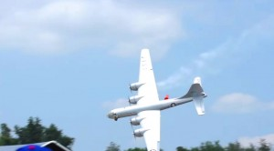 Gigantic Rc B-29 Crashes In The Worst Of Ways