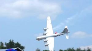 Gigantic Rc B-29 Crashes In The Worst Of Ways