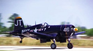 Great Sounding Engines Of A Corsair And A Bearcat