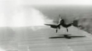 Corsair Pilot Lands On Deck And Then This Happens…