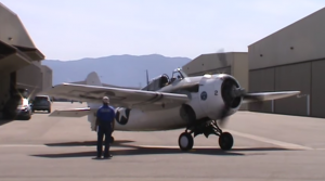 This F4F Wildcat Sounds Amazing- Loud Startup Action