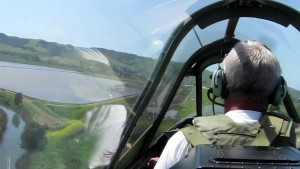 Flying Shotgun In A P-40 Warhawk: Great Footage!