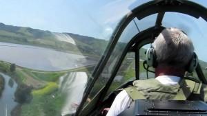Flying Shotgun In A P-40 Warhawk: Great Footage!
