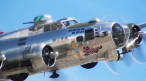 Awesome Sounding Flybys Of Our Favorite B-17s: Sentimental Journey And Fuddy Duddy