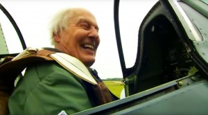 WWII Vet Flies A Spitfire At 91-What He Does Next Is AMAZING!!!