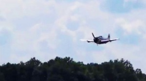 Nice And Loud P-47 Thunderbolt Low Flyby