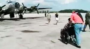 WWII B-17 Pilot Takes One Final Flight- Absolutely Heartbreaking