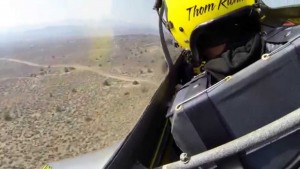 Mustang's Engine Gives Out Mid-Flight, But That Pilot Though