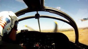 Fantastic Skyraider POV Flying Next To A Mitchell And Avenger