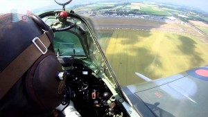 Spitfires Chasing Each Others' Tails: Sure Beats The Cubicle