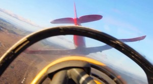 T-6 Texans Practicing A Formation Loop: Great Piloting!