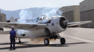 This F4F WildCat Startup Is Pretty Wild