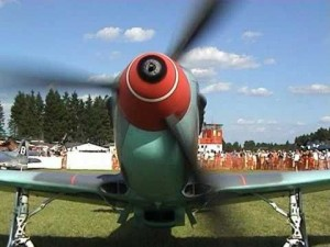 Yakovlev Yak-9 Showing Off What Its Got